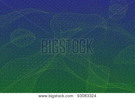 Triangle mesh background