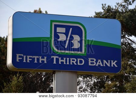 Fifth Third Bank Sign