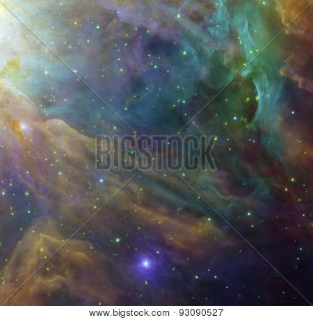 Space Elements of this image furnished by NASA