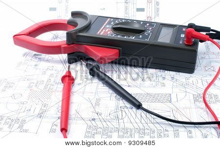 Voltage Tester On  Diagram