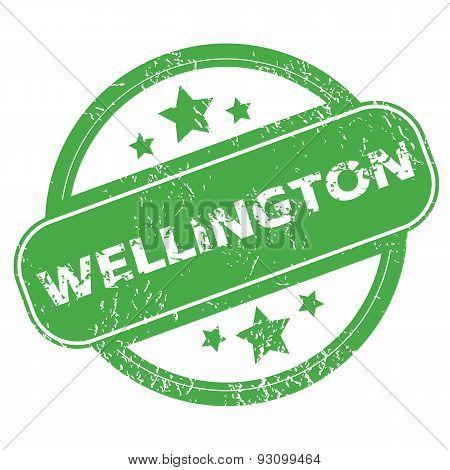 Wellington green stamp