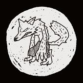 image of werewolf  - Werewolf Doodle - JPG