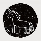 foto of unicorn  - Unicorn Doodle - JPG