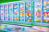 pic of supermarket  - Interior of supermarket - JPG