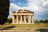image of ceres  - Archaeological site of Paestum Temple of Neptune . Italy ** Note: Visible grain at 100%, best at smaller sizes - JPG
