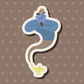 foto of aladdin  - Aladdin Genie Theme Elements - JPG