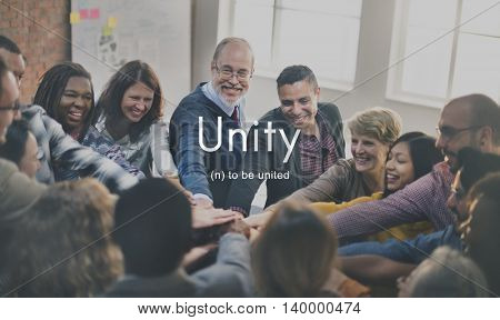 Unity Community Connection Cooperation Team Concept