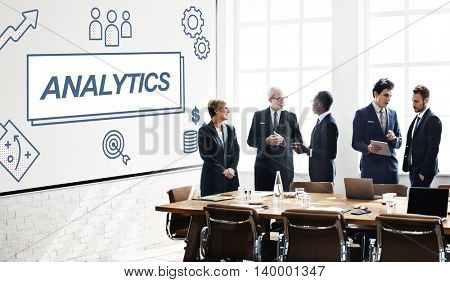 Analytics Research Information Business Graphic Concept