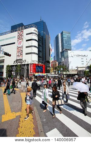 Crowds In Tokyo