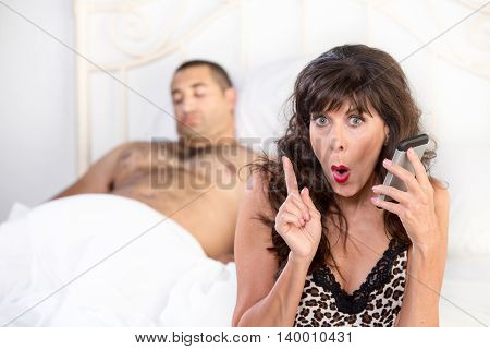 Mature Cougar Makes A Shameful Call After Sexual Conquest