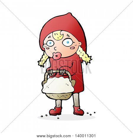 little red riding hood cartoon