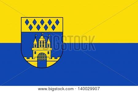 Flag of Steinfurt is a town in North Rhine-Westphalia Germany.