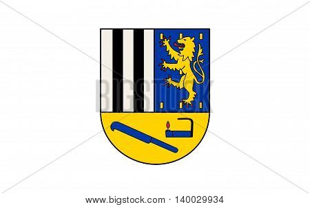 Flag of Siegen-Wittgenstein is a district in the southeast of North Rhine-Westphalia Germany