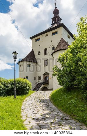 New Castle Above The City Of Banska Stiavnica