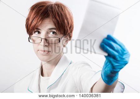 Medicine Woman Note