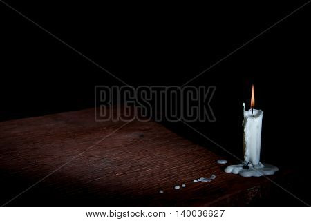 Table In Candle Light