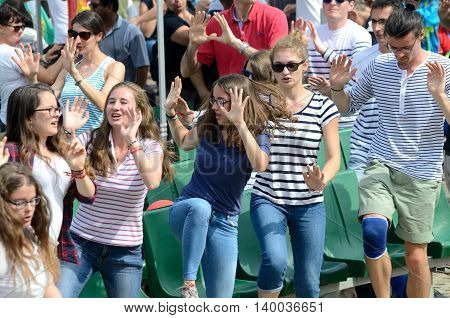 Dancing Pilgrims, World Youth Day 2016
