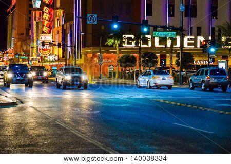 Las Vegas Downtown Area