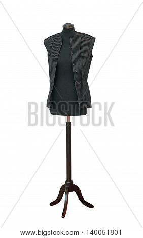 Sewing Mannequin Model Isolated Included Clipping Path