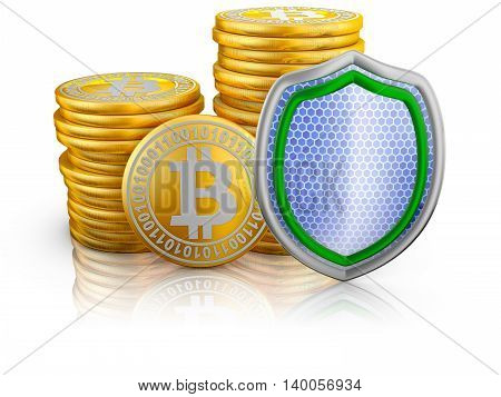 Bitcoins And Shield