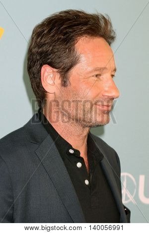 LOS ANGELES - JUN 16:  David Duchovny at the Aquarius Season 2 Premiere Screening Arrivals at the Paley Center For Media on June 16, 2016 in Beverly Hills, CA