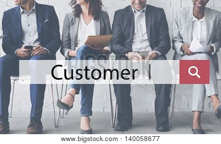 Customer Service Consumer Management Patron Concept