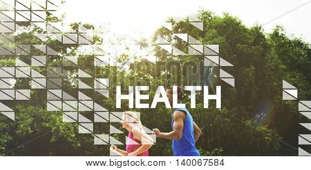 Active Health Exercise Fit Wellness Concept