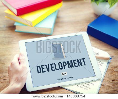 Development Education Knowledge Book Study Concept