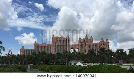 Beautiful Royal Tower at Atlantis, Bahamas vacation