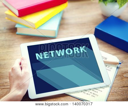 Network Internet Networking Online  Connection Concept