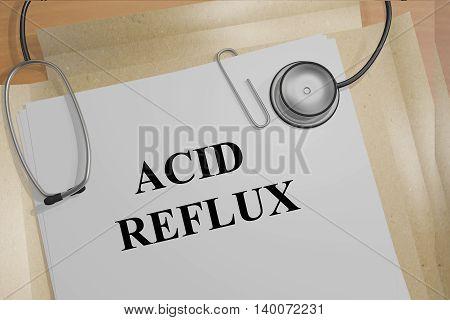 Acid Reflux - Medical Concept