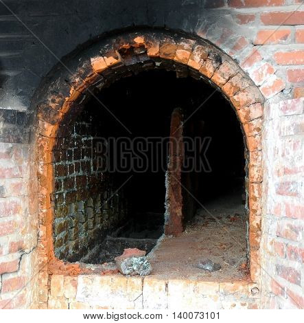 a kiln in the pottery workshop for  pottery