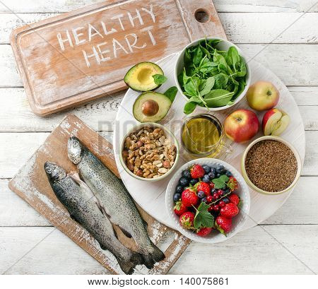 Food For Healthy Heart.
