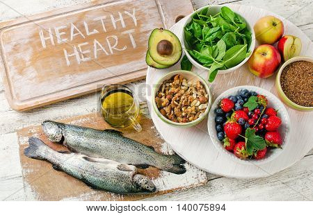 Good Foods For Healthy Heart.