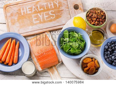 Best Foods  For  Healthy Eyes.