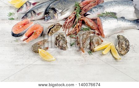 Fresh Seafood. Healthy Food.