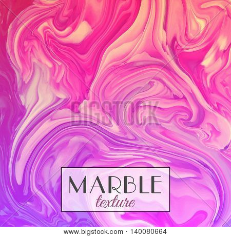 Marble texture. Vector abstract colorful background. Vector illustration eps10.