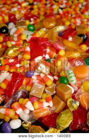 Assorted Halloween Candy