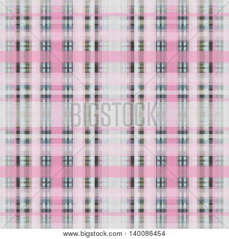 Seamless retro textile tartan checkered texture plaid pattern print