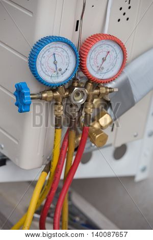 Manometers, Equipment For Filling Air Conditioners