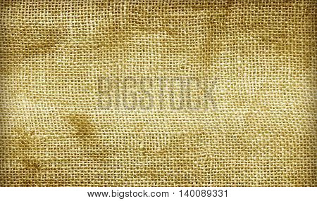 Textured Background Hemp Sacks.