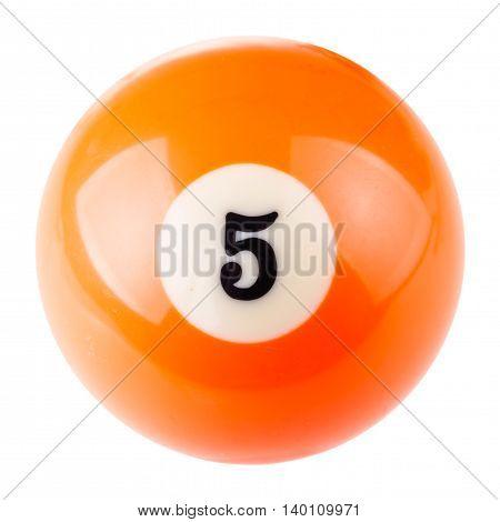 Pool Ball Five