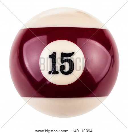 Pool Ball Fifteen