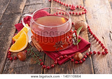 red tea and spice