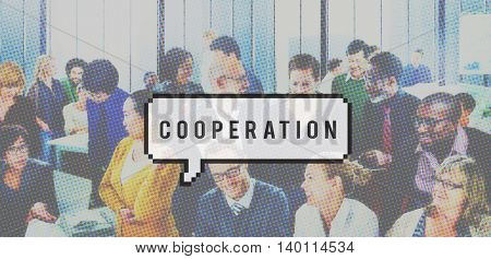 Cooperation Interaction Agreement Collaboration Concept
