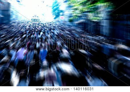 an image of people walking in a city