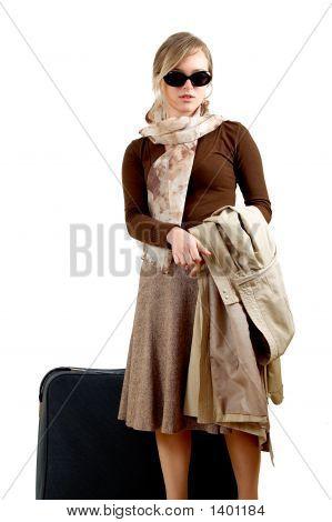 Woman With Huge Bag