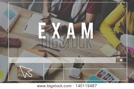 Exam Coaching Authority Management Leader Concept
