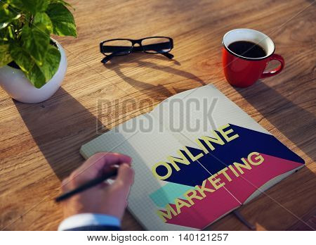 Online Marketing Branding Commercial Digital Concept
