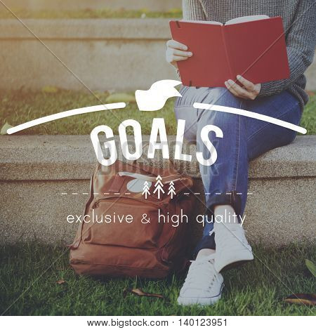 Goals Target Aim Vision Motivation Aspirations Concept